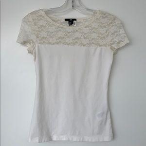 H&M Lace T-shirt